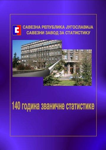140 godina zvani~ne statistike
