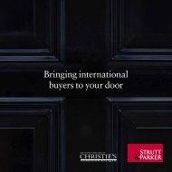 Bringing international buyers to your door