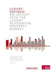 LUXURY DEFINED: AN INSIGHT INTO THE ... - Strutt & Parker