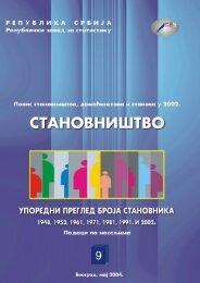 Knjiga 9 - Републички завод за статистику