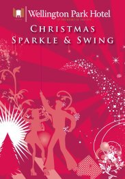 Christmas Party Brochure - Wellington Park Hotel