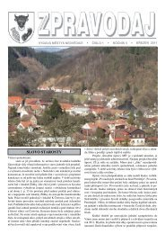 Zpravodaj - číslo 1 - březen 2011 - Nedvědice