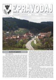 Zpravodaj - číslo 2 - červen 2011 - Nedvědice