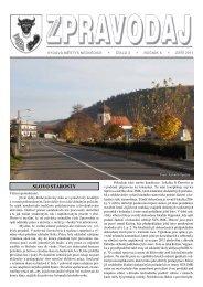 Zpravodaj - číslo 3 - září 2011 - Nedvědice
