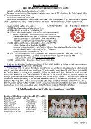Pardubické karate v roce 2008 Oddíl MSK Sokol Pardubice ...