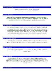 Aktuality 2010-2011 - SFL