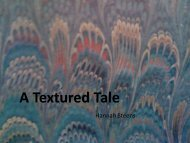 A Textured Tale
