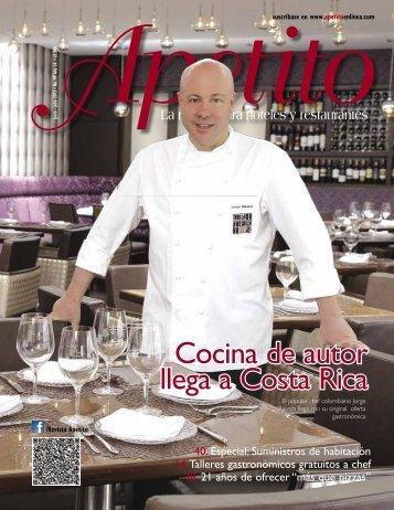 Cocina de autor llega a Costa Rica