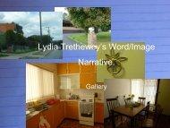 Lydia Trethewey's Word/Image Narrative