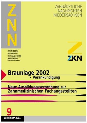 Braunlage 2002 - Zahnärztekammer Niedersachsen