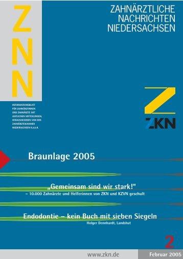 Braunlage 2005 - Zahnärztekammer Niedersachsen