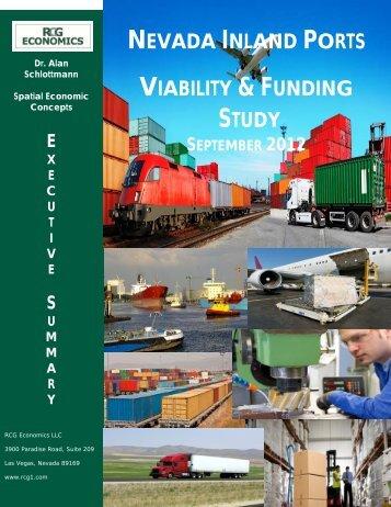 nevada inland port study - RCG Economics