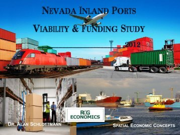 nevada inland port study - RCG Economics