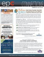 Executive servers Chamber Sophie representatives business members Membership