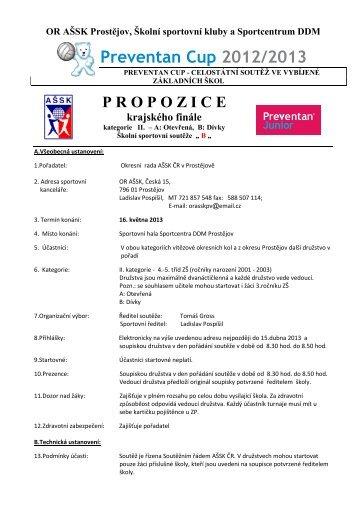 Preventan Cup 2012/2013
