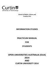 OPEN UNIVERSITIES AUSTRALIA (OUA) 2014 AND