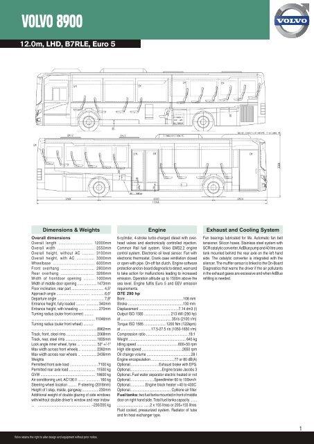 VOLVO 8900 | Volvo B7rle Wiring Diagram |  | Yumpu