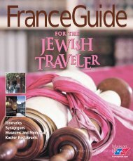 Itineraries Synagogues Museums and Memorials Kosher ...