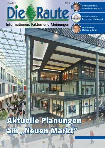 """Aktuelle Planungen am """"Neuen Markt"""" - CSU Stadtverband Neumarkt"""