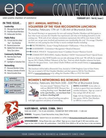 february 2011 - Eden Prairie Chamber of Commerce