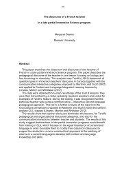 Margaret Gearon - Humanities