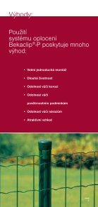 Bekaclip® -P - Ploty Betafence - Page 2