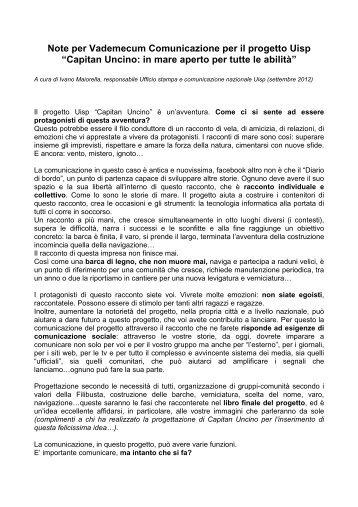 Vademecum Comunicazione - legge383-Uisp