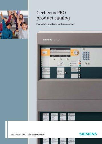 Cerberus PRO product catalog