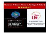 Anamnésis - Unidad del Pie y Tobillo