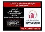 """Hospital Universitario """"Virgen del Rocío"""" Sevilla"""