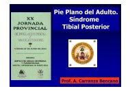 S. Insuficiencia Tibial Posterior - Unidad del Pie y Tobillo