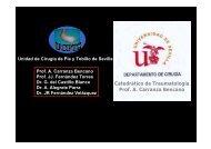 Catedrático de Traumatología Prof A Carranza Bencano