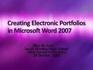 in Microsoft Word 2007