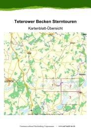 Teterower Becken Sterntouren - Tourismusverband Mecklenburg ...