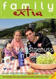 Herbstgenuss in Österreich - Family-Extra