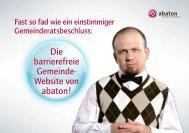 Die barrierefreie Gemeinde- Website von abaton! Die barrierefreie ...
