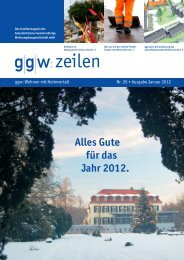 Nr. 20 Januar 2012 - gelsenkirchener gemeinnützige ...