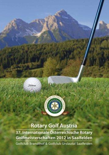 Bergerlebnis Kultur - Rotary Golf Austria