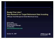 New Research on Target Retirement Date Investing