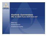 Custody Conversions