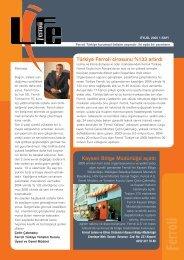 Ferroli Life Dergisi Sayı:1