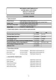 6 Aylık Rapor - BNP Paribas Cardif Emeklilik