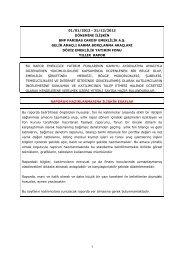 Yıllık Rapor - BNP Paribas Cardif Emeklilik