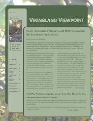 VIKINGLAND VIEWPOINT