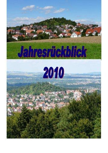 Januar - in der Gemeinde Grafenberg