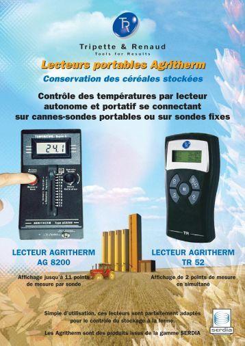 Lecteurs portables Agritherm