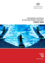 PRINCIPAL TASKS FOR THE ADF 53 THE FUTURE DEVELOPMENT OF THE ADF 58