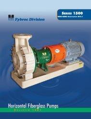 Horizontal Fiberglass Pumps