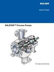 AHLSTAR™ Process Pumps
