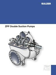ZPP Double Suction Pumps